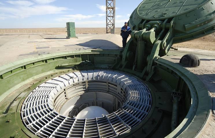 баллистическая ракета Сармат шахта запуска