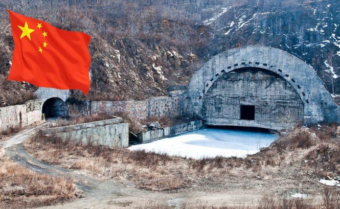 КНДР имеет подземные аэродромы и военные базы.