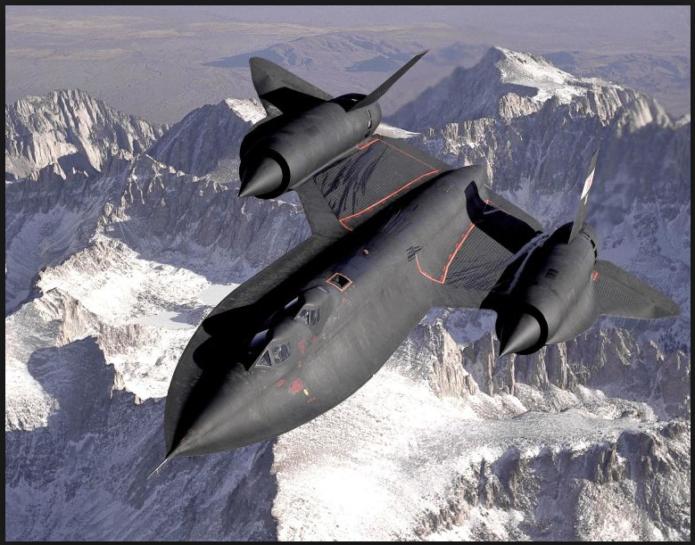 Самолет SR-71