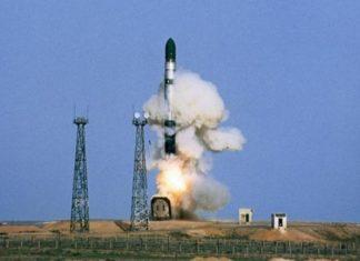 баллистическая ракета Сармат запуск 2