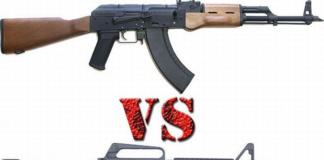 АК против М16 – вечный спор