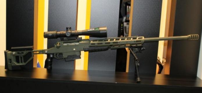 Российская мультикалиберная снайперская винтовка ORSIS F-17.